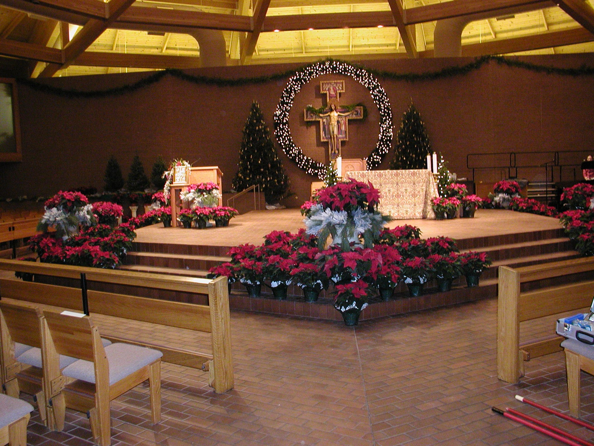 Seasonal Decorations St Vincent De Paul Catholic Church