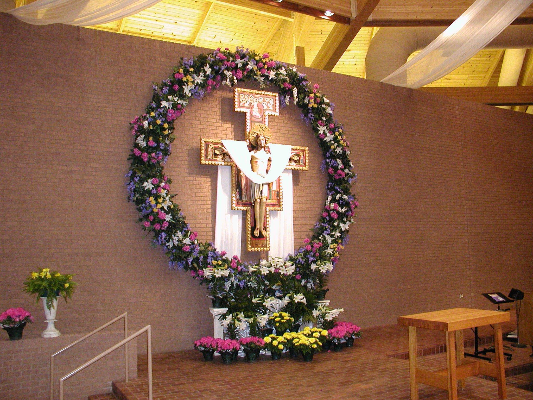 Seasonal Decorations St Vincent De Paul Catholic Church